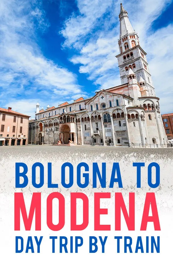 Find out how to arrange your Bologna to Modena Day Trip by train and find the best things to do on your Modena day trip like what to see and where to eat!