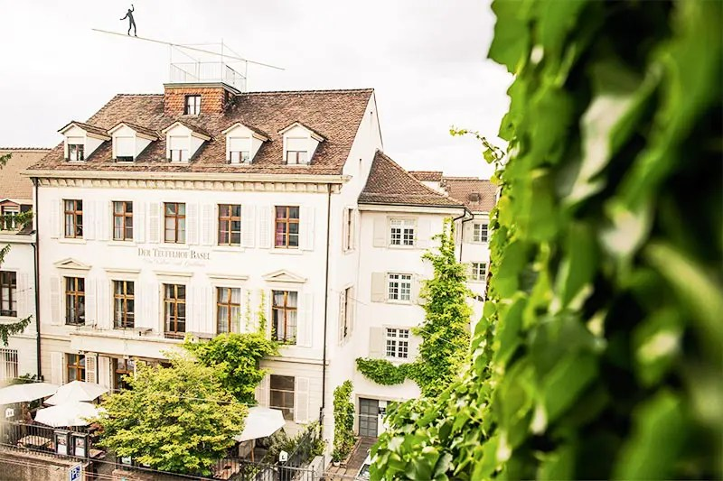 Hotel Teugelhof in Basel, one of the best cities in Switzerland to visit and one of the most beautiful places in Switzerland.