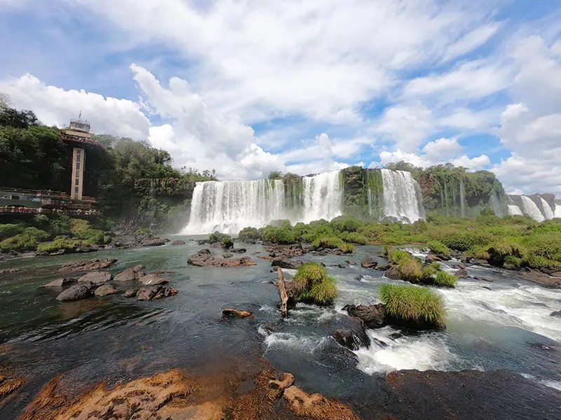 Visit the largest waterfalls in the world with my 2-day itinerary for Iguazu Falls in Argentina and Brazil with practical tips for independent travelers