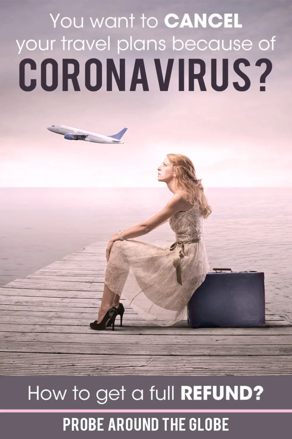 If you want to cancel your travel plans because of the Coronavirus Covid-19, I can help you with practical tips to get a full refund of your travel expenses