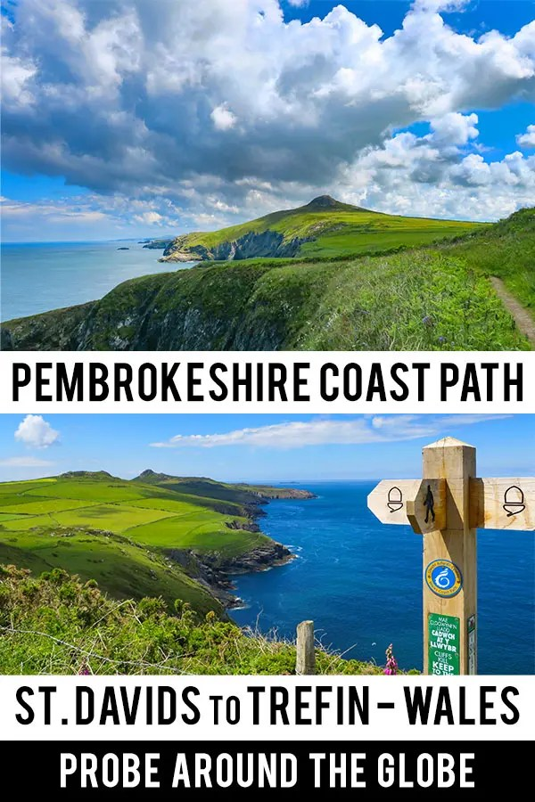 What is it like to hike the Pembrokeshire Coast Path from St. Davids to Trefin in Wales. Read my experiences and practical tips for hiking the Wales Coast