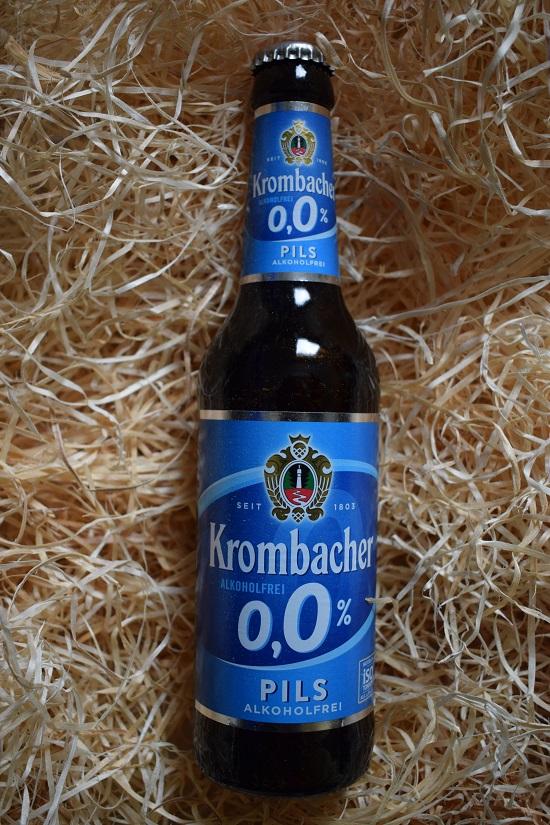 Brandnooz Box September 2017 Krombacher alkoholfrei Probenqueen
