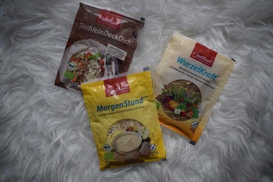 Wohlfühlen mit P. Jentschura Produktvorstellung Ernährung Portionsbeutel Probenqueen