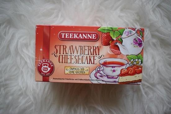 Pinkbox Metime Teekanne Strawberry Cheesecake Tee Probenqueen