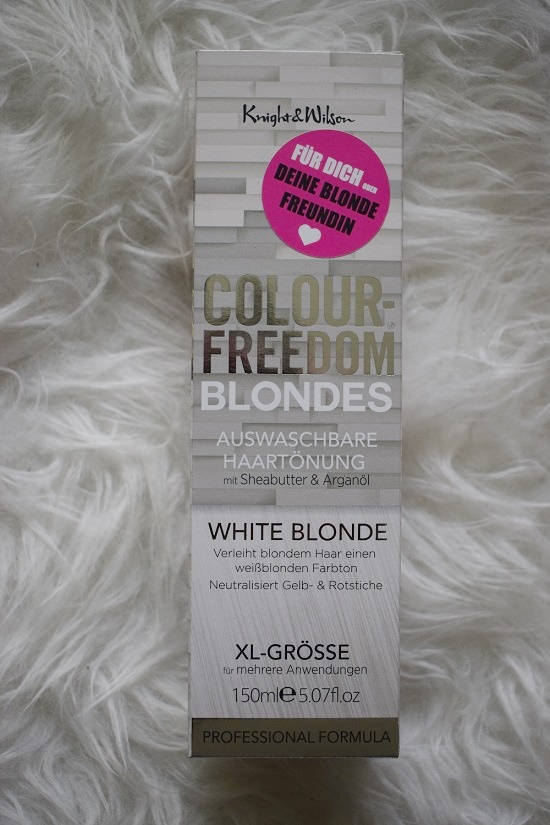 Pinkbox Merry Christmas Colour Freedom Blondes Haartönung Probenqueen