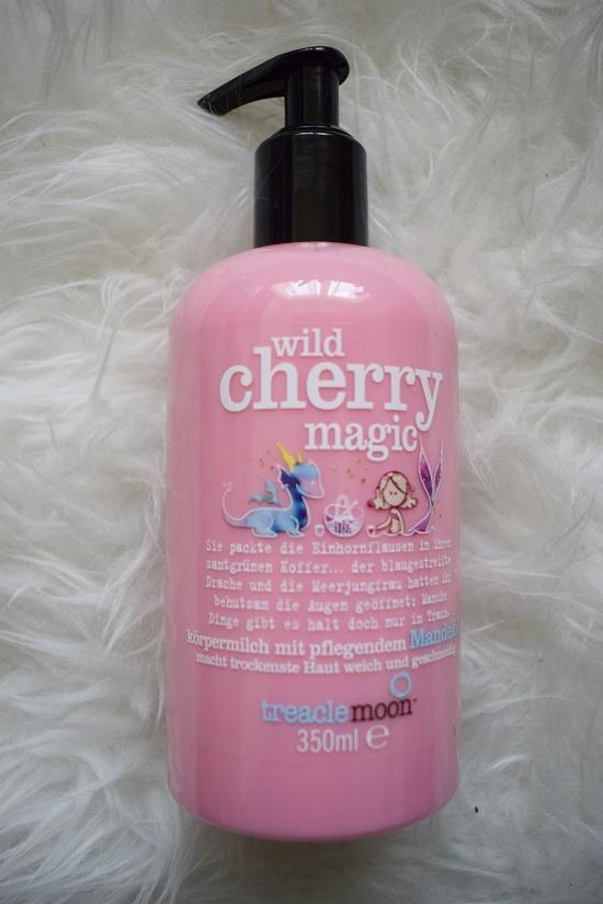Pinkbox loves Joy Treaclemoon wild cherry Körpermilch Probenqueen