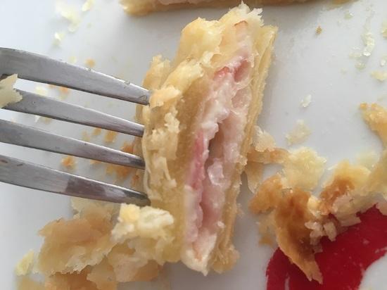 Pink your kitchen Blätterteig angeschnitten www.probenqueen.de