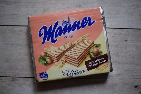 Degustabox Januar 2019 Manner Wien Vollkorn Haselnussschnitte