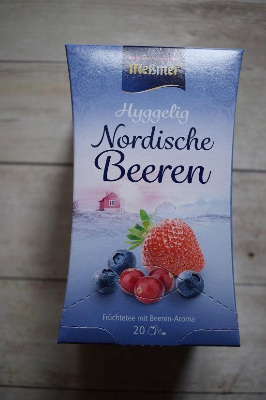 Degustabox Januar 2019 Packung Meßmer Tee Nordische Beeren