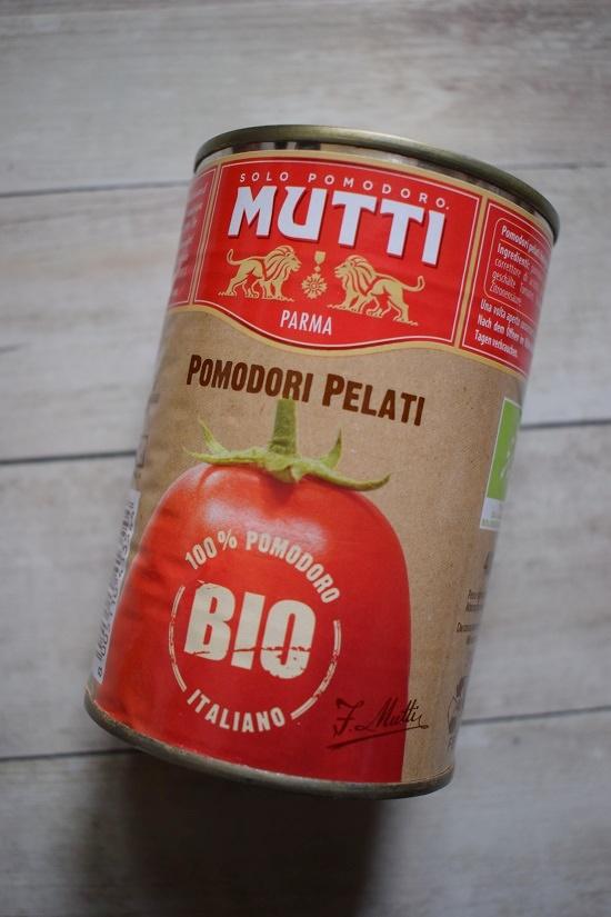 Degustabox Januar 2019 Dose Mutti geschälte Tomaten