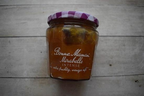 Degustabox 2019 Marmeladenglas Monne Maman mirabelle intense