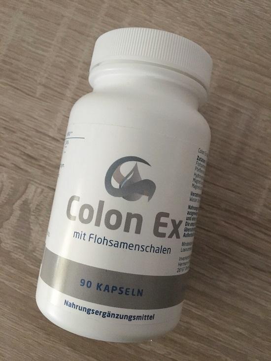 Dose Colon Ex Nahrungsergänzungsmittel
