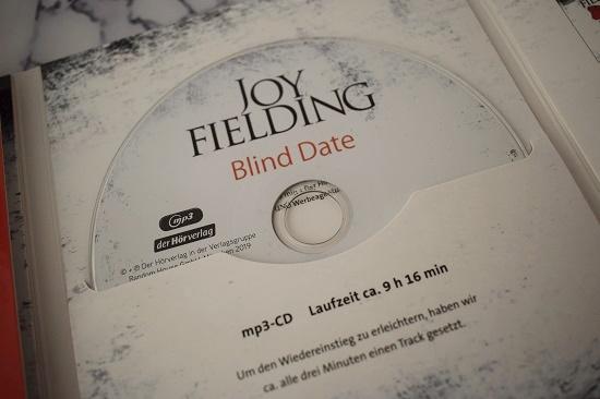 Blind Date von Joy Fielding MP3 CD im Cover