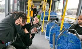 Selbstverteidigung im Stadtbus, Krav Maga Salzburgland, Albus, Salzburg, 20171104, (c)wildbild