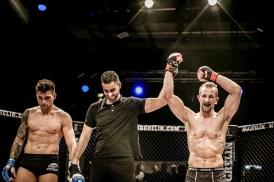 Erik Enzensberger, Fitim Ukelli, Aggrelin, Cage Fight, Salzburg, 20171217, (c)wildbild