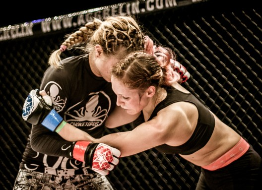 Nicole Berger, Groundfighter Salzburg, Lucie Vacova, Prag, Aggrelin, Cage Fight, Salzburg, 20171217, (c)wildbild