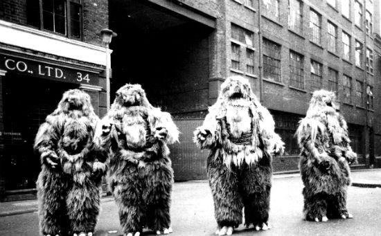 The Web of Fear yeti