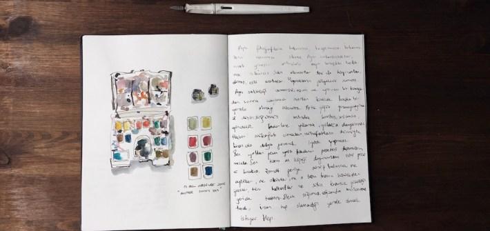 drawing sketchbook