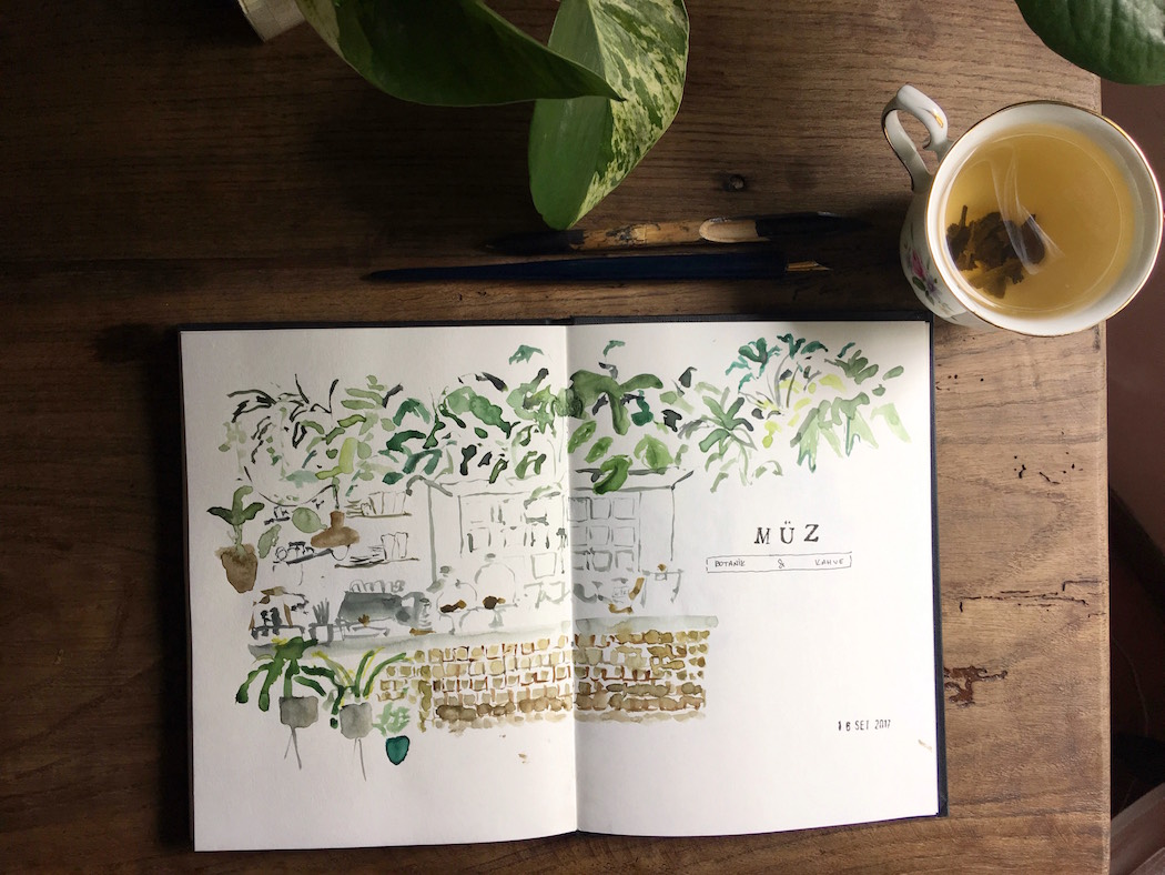 drawing urban sketchers diary