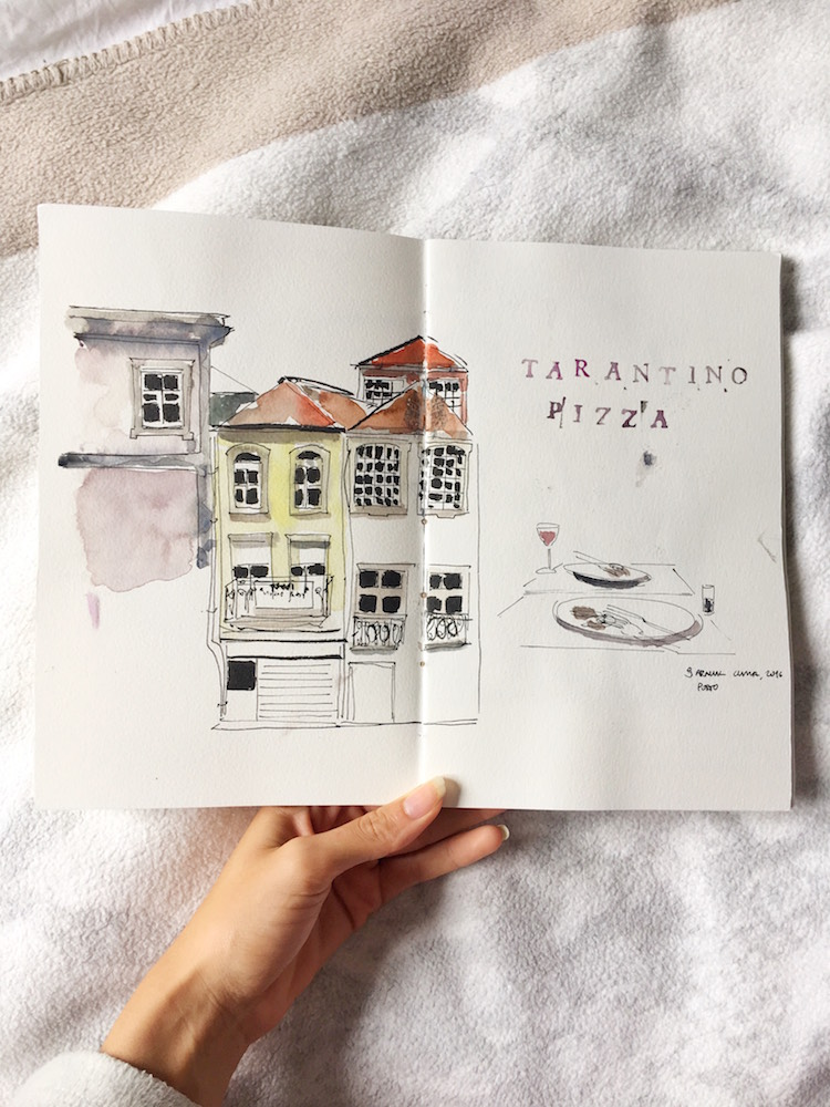 drawing watercolour blog blogger