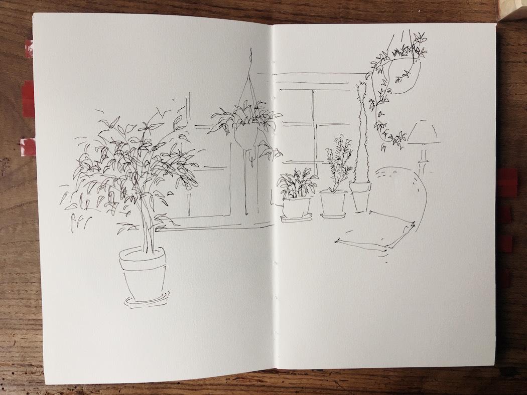 urban sketchers drawing blog watercolour