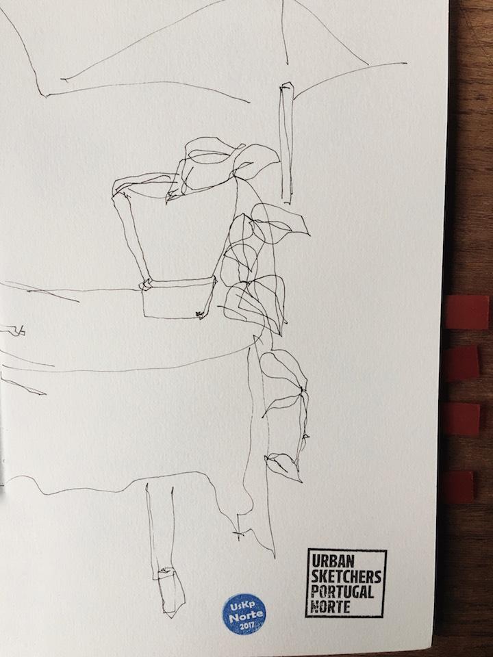 urban sketchers drawing watercolour