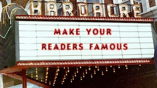 make your readers famous