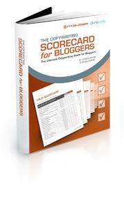 copywriting scorecard bloggers