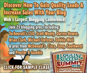 Take Your Blog to the Next Level with Blogging Success Summit 2011