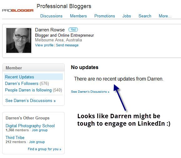 Darren on LinkedIn
