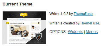 Install Your First WordPress Theme
