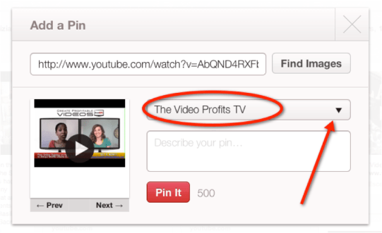 How to Add Your YouTube Videos to Pinterest