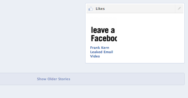 Scroll forever on Facebook