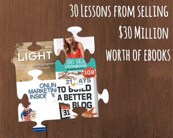 Picture Thats Worth 1000000 Words >> 30 Lessons From Selling 30 Million Worth Of Ebooks