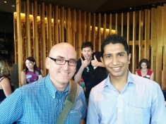 Jenish Pandya and Darren Rowse ProBlogger