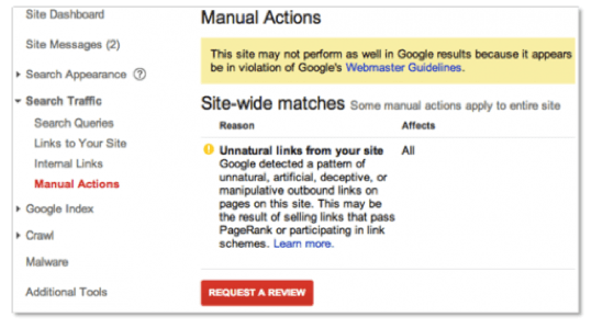 Five essential steps to removing a Google manual penalty