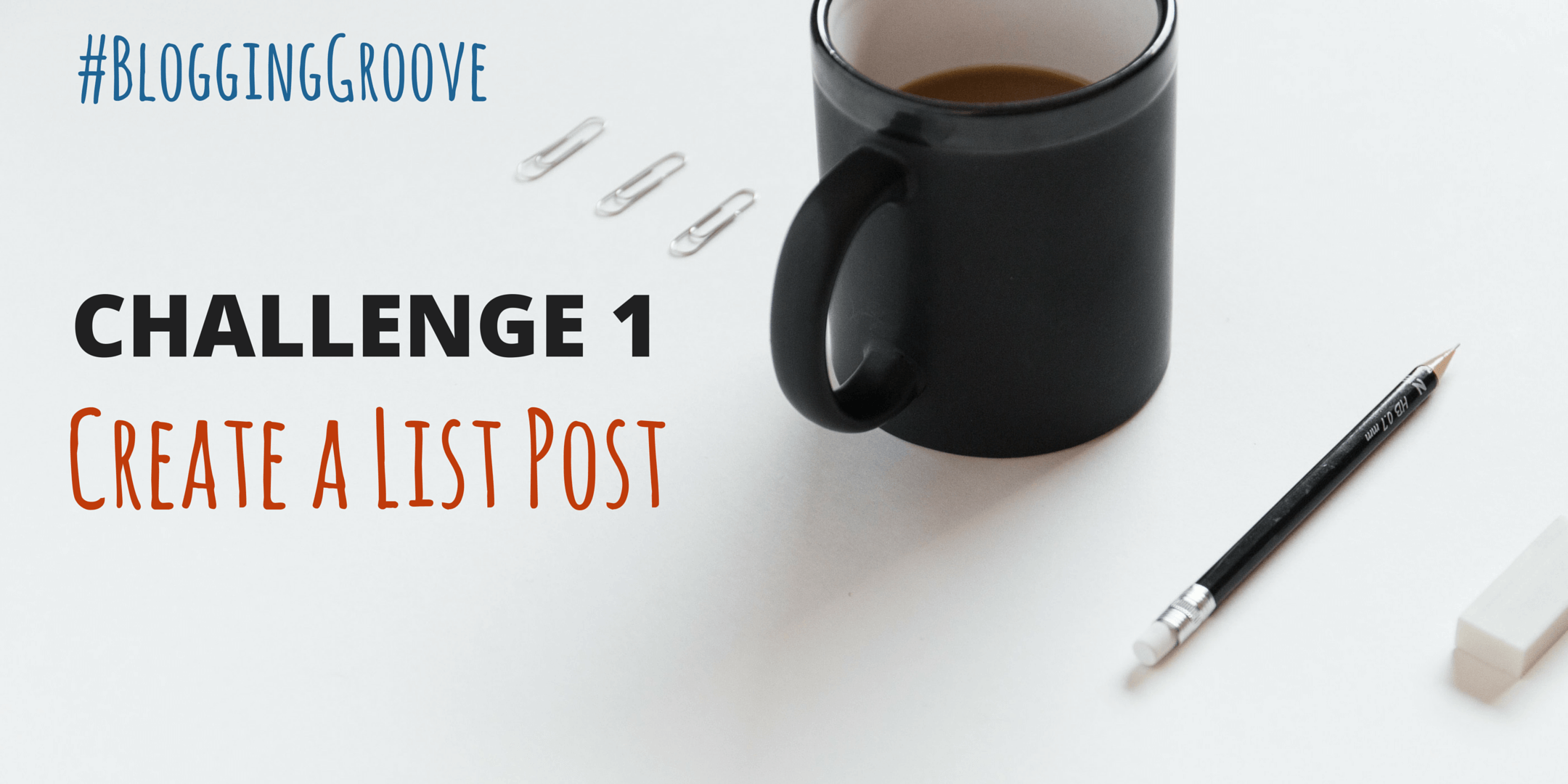 CHALLENGE 1 CREATE A LIST POST