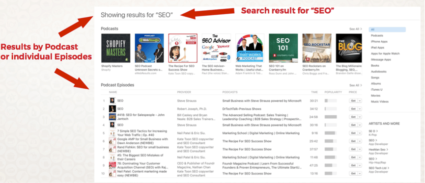 Podcast SEO: How to Improve Your iTunes Ranking