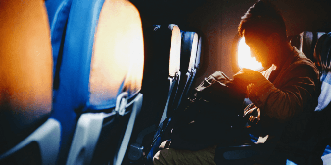 How to work productively when flying
