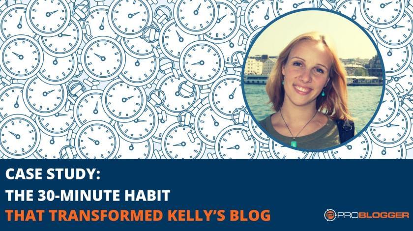 30-minute blogging habit
