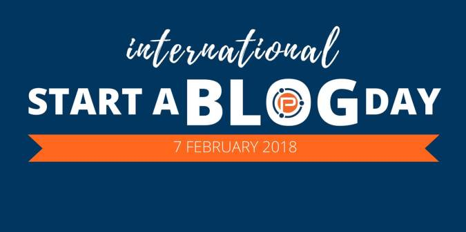 International Start a Blog Day 2018