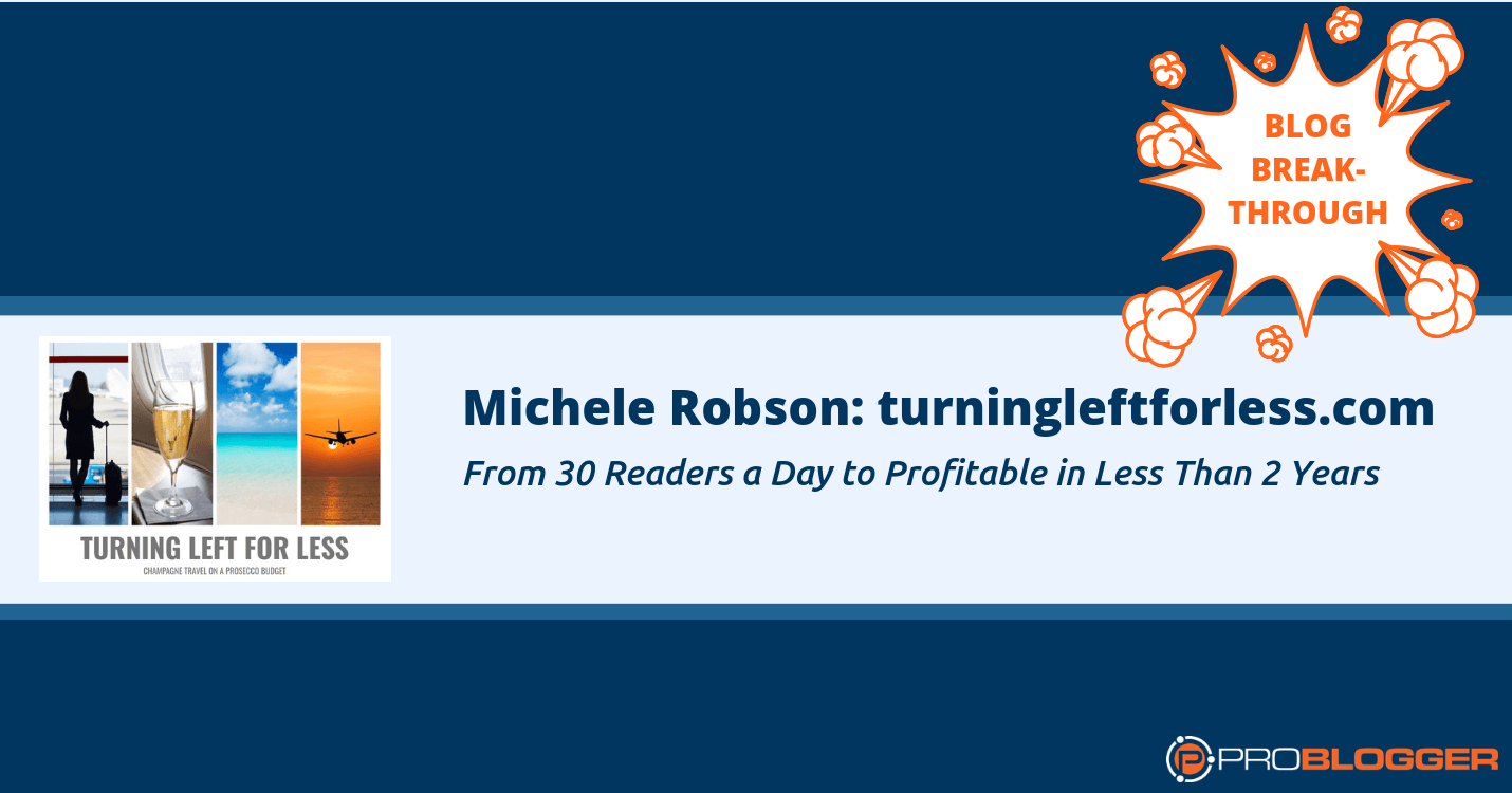 261: Breakthroughs that Grew My Blog from 30 Readers a Day to Profitable in Less Than 2 Years