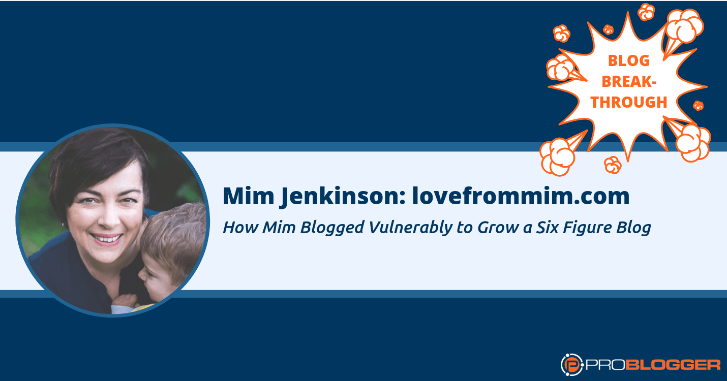 Blogging with vulnerability