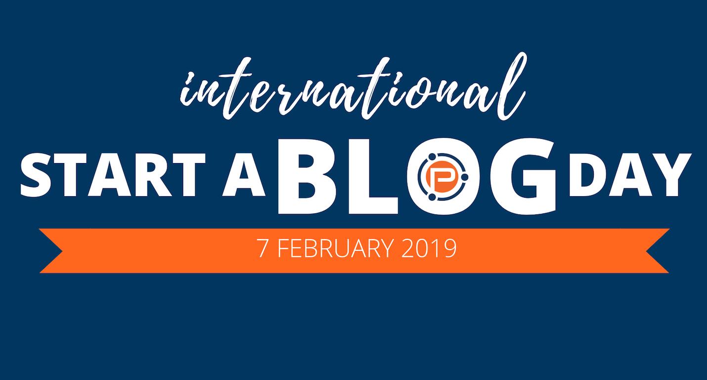 International Start a Blog Day 2019