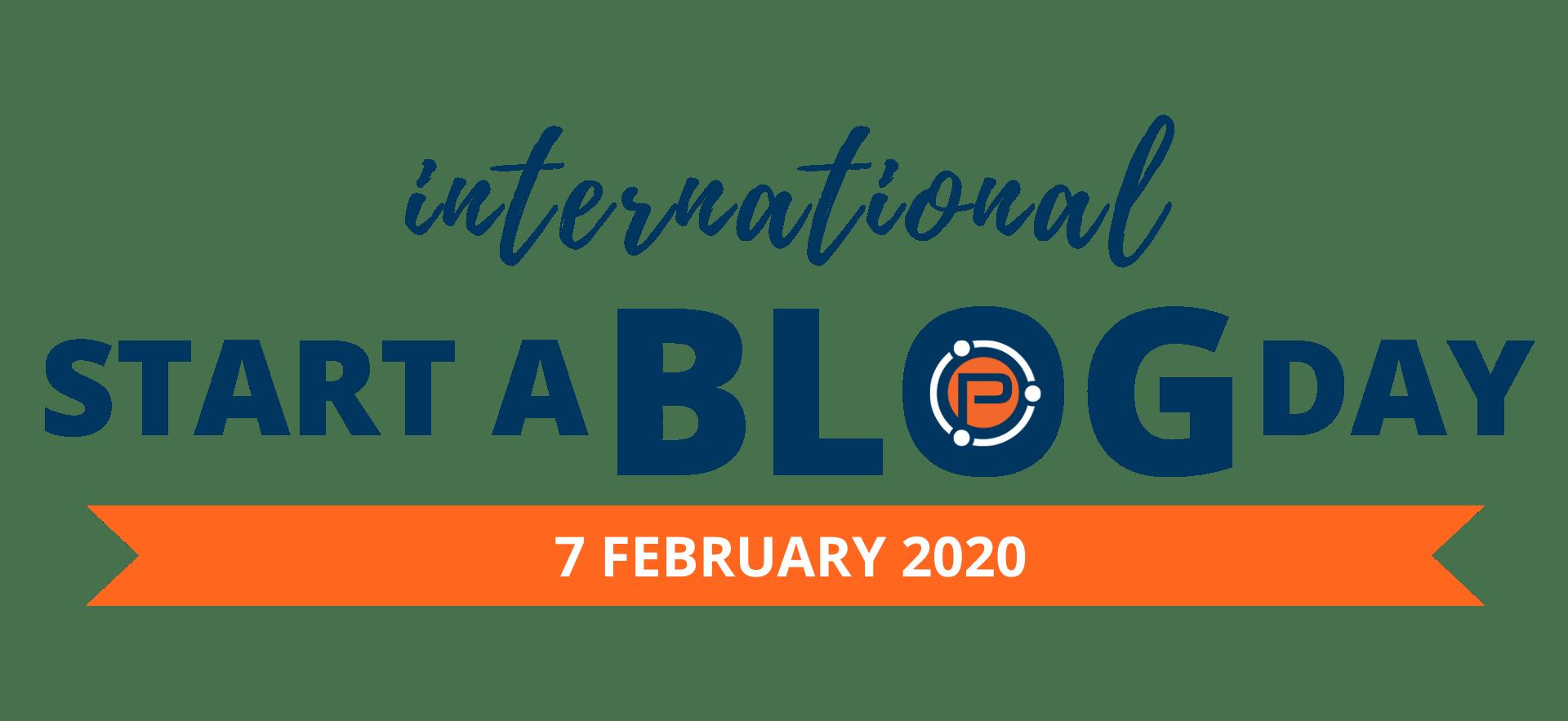 International Start a Blog Day Classe de 2020