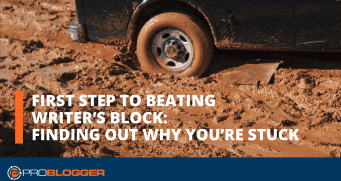 First step to beating writer's block: Finding out why you're stuck