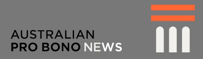 Australian Pro Bono News
