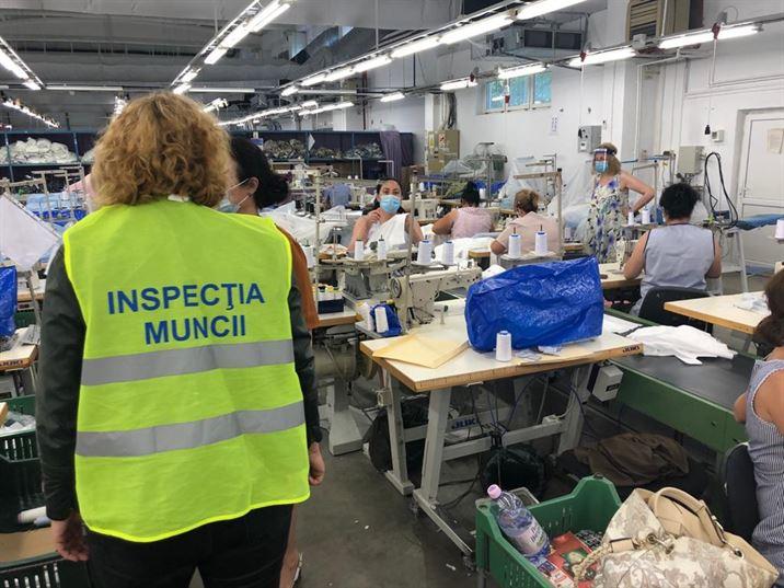ITM Braila a continuat verificarile respectarii masurilor luate la fabricile de confectii