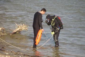 Trupul barbatului inecat joi la Plaja Lipoveneasca a fost gasit