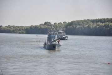 flotila fluvială